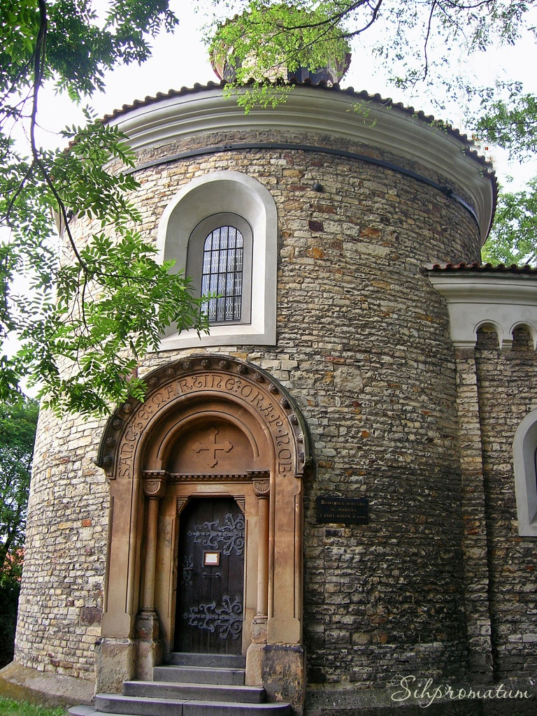 Oldest Rotunda of St. Martin , Czech Republic