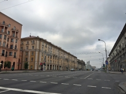 Very large intersections in Minsk.
