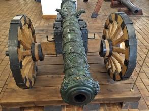 A very decorative Canon. Nesvizh Castle