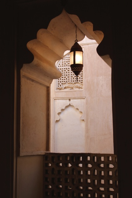 Window in Nizwah Castle, Oman
