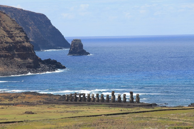 Ahu Tongariki on Rapa Nui (Easter Island)