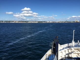 Ferry boat from Denmark to Sweden