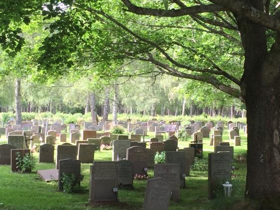 Skogskyrkogården Graveyard UNESCO site