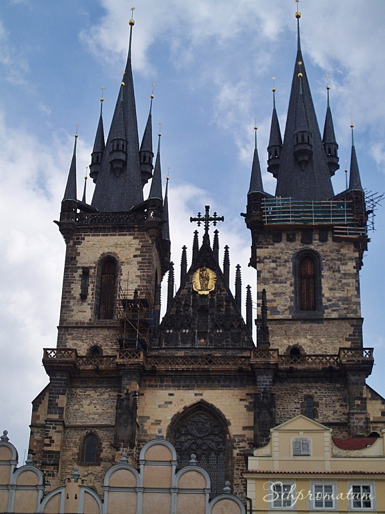The Church of Our Lady before Týn,, Prague