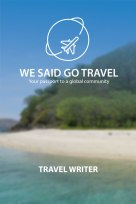 WSGT Travel Writer Badge