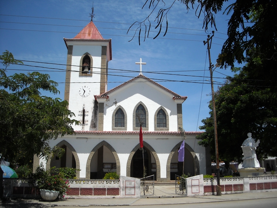 The Church of São António de Motael, Dili