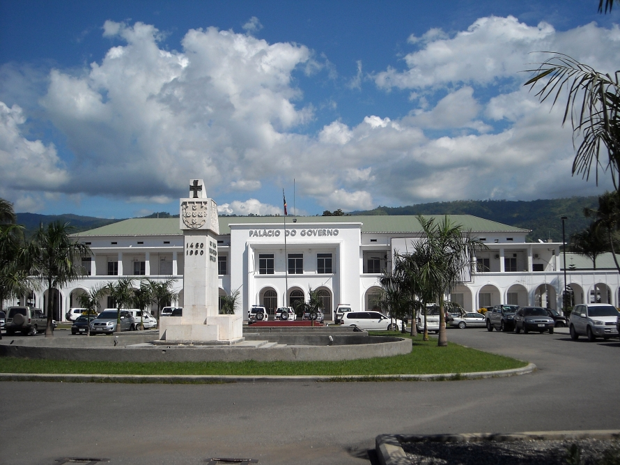 Nicolau Lobato Presidential Palace in Dili.