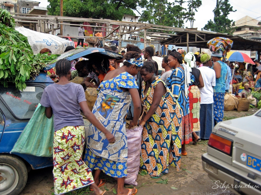 Market day in Matadi
