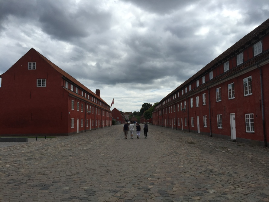 Kastellet, located in Copenhagen,