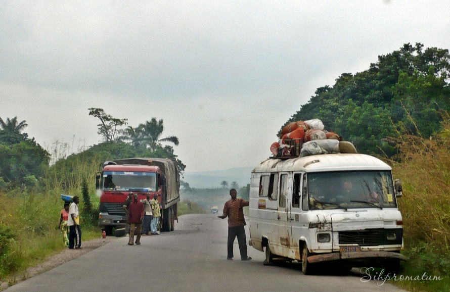 broken down vehicles and flat tire