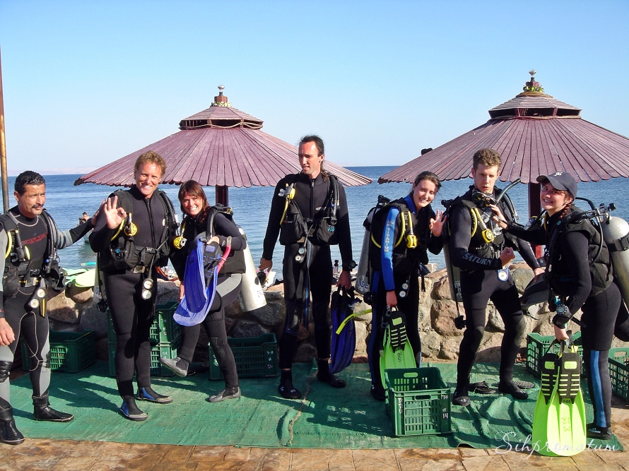 Open Water PADI course family style