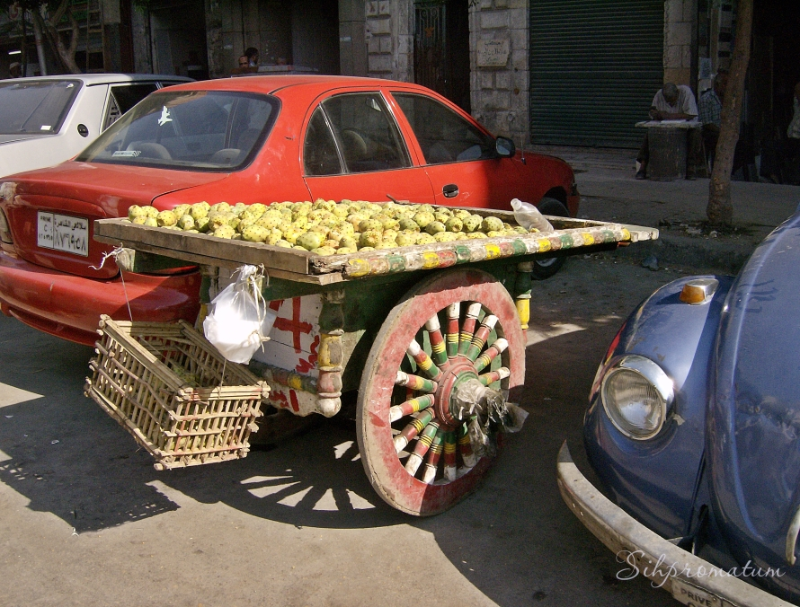 fruit stand Cairo