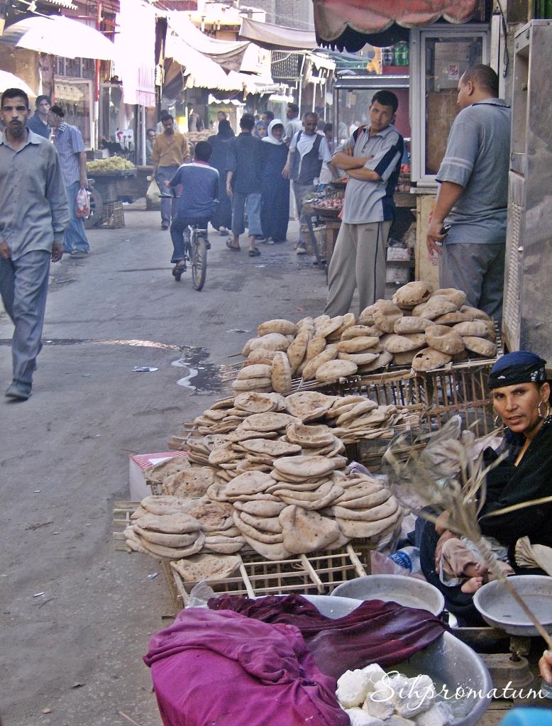fresh bread. -Cairo