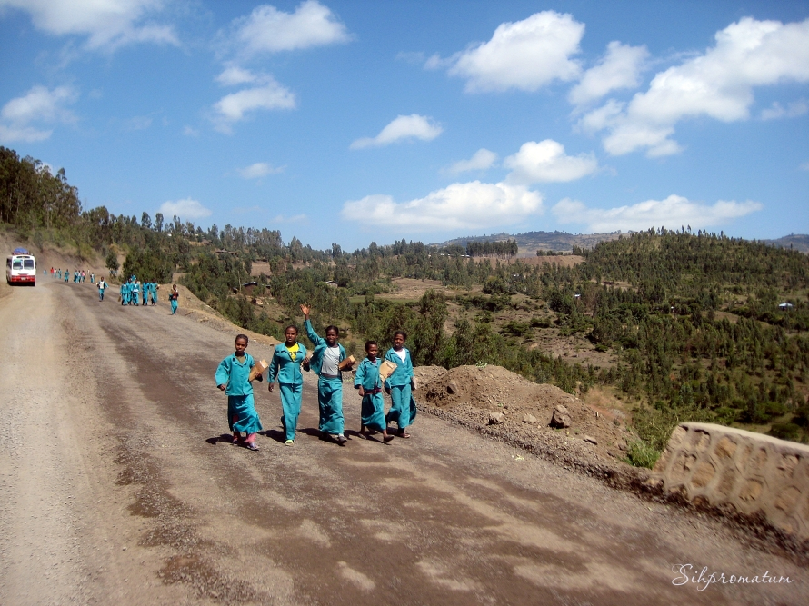 School children Ethiopia