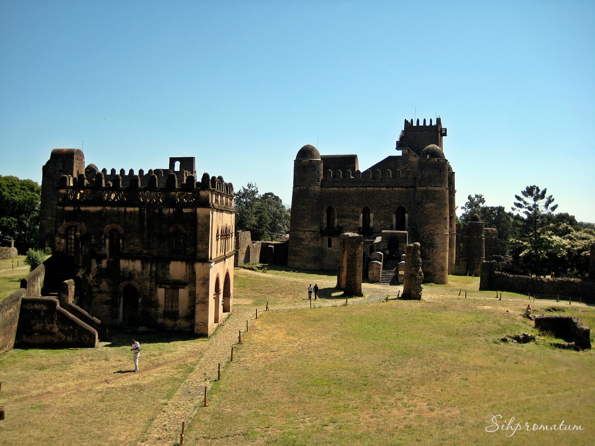 Castles from the 17th century in Gondar