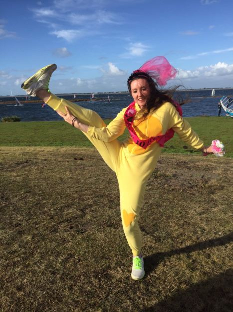 Bruinisse,, fun in the wind