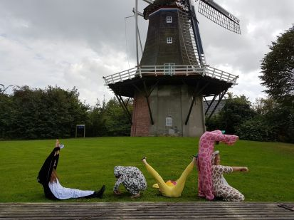 spelling Love with windmill
