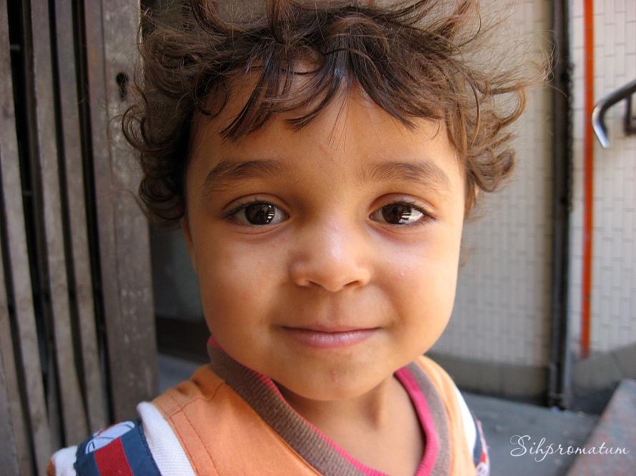 An adorable little girl
