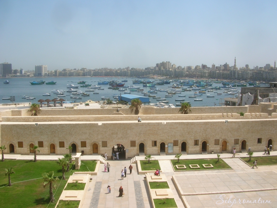 The Mediterranean Sea in Alexandria