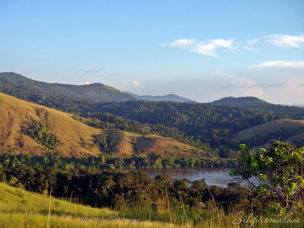 countryside of Gabon