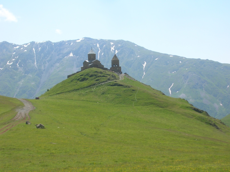 Tsminda Samebo Church, Kazbegi
