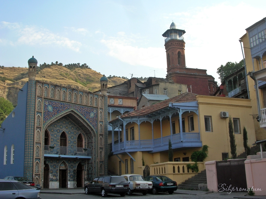 Turkish bath and Sunni mosque in Tbilisi