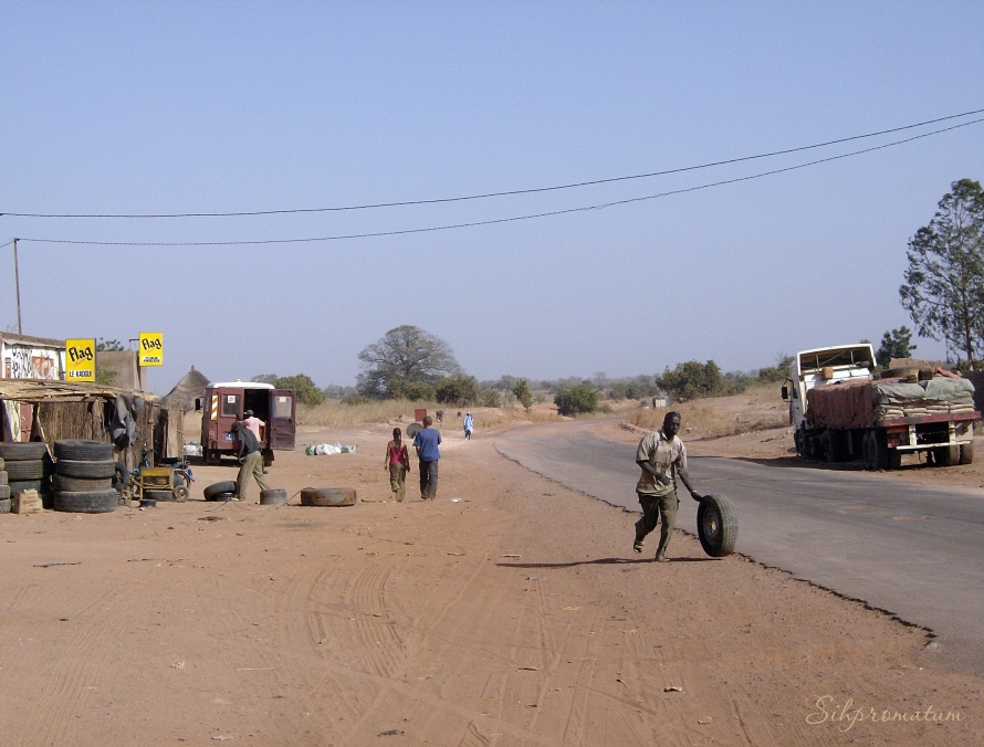 tire shop in Gambia
