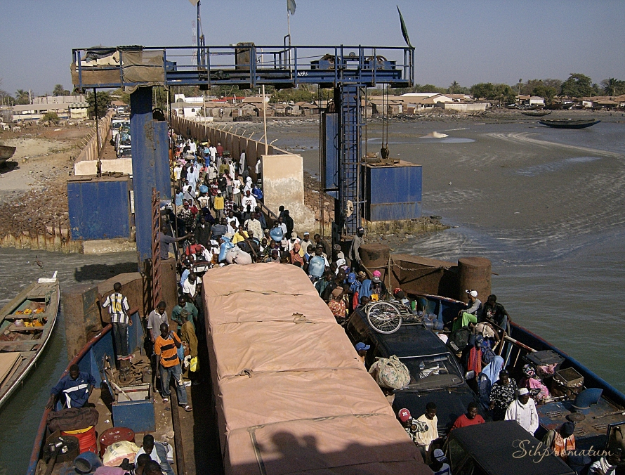 ferry to Banjul