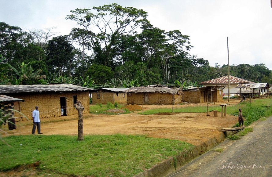 countryside of Gabon