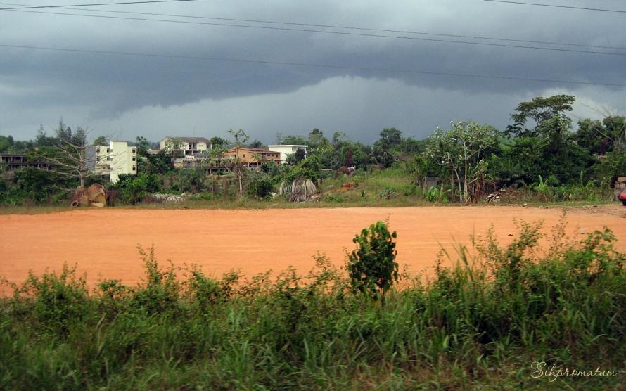field near Accra