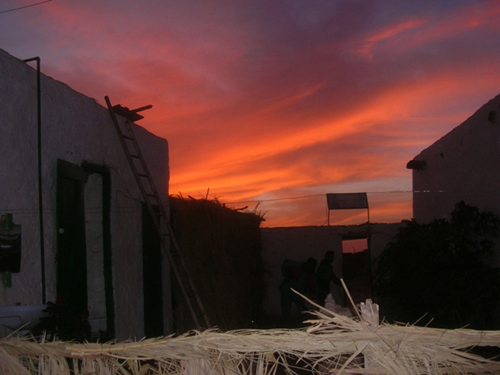 Mauritania sunset
