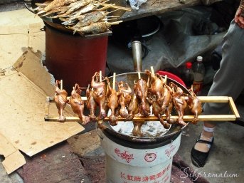 Chicks for a snack, China