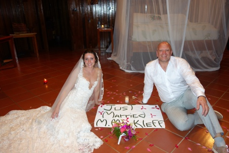 Mr and Mrs Kleff (so they misspelled it :) )