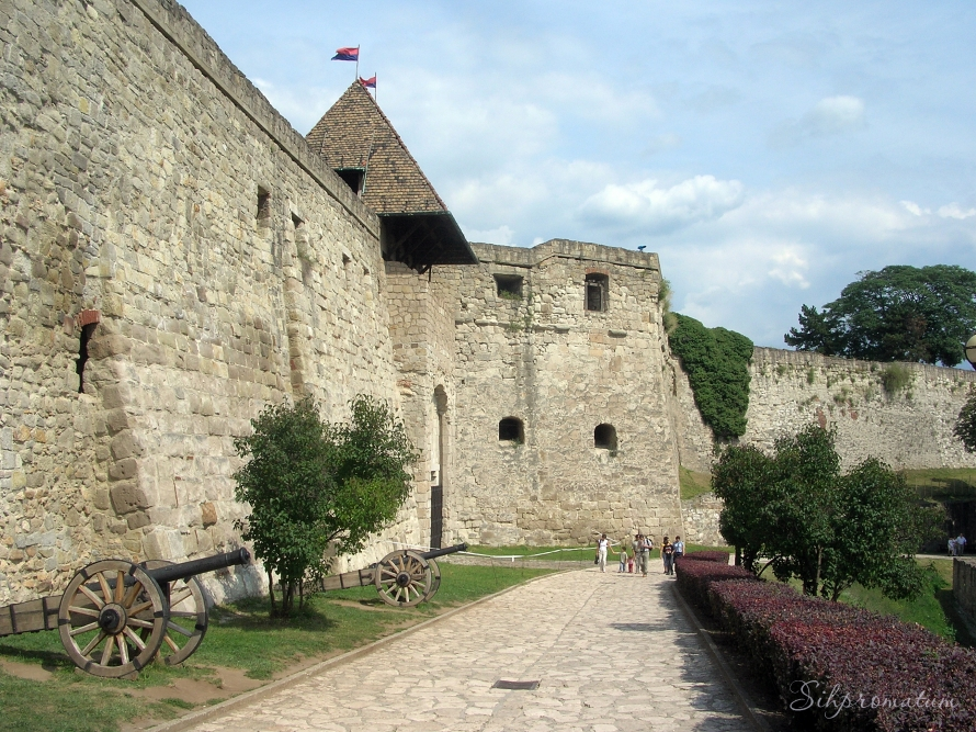 This fortress was built after the Mongel invation in 1241