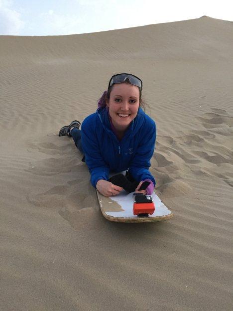 Sand dunes peru