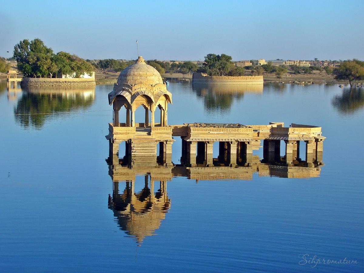 Jaisalmer in the Thar Desert