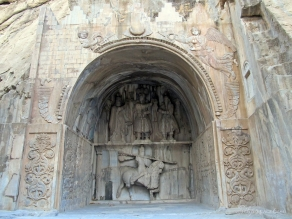 Taq-e bostan in Kermanshah