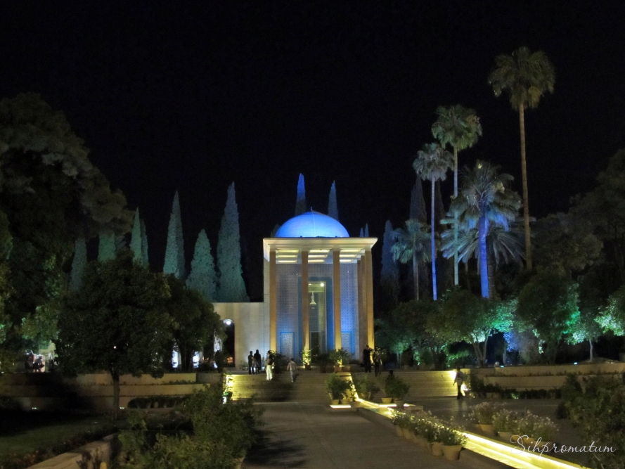 Saadi tomb, Shiraz