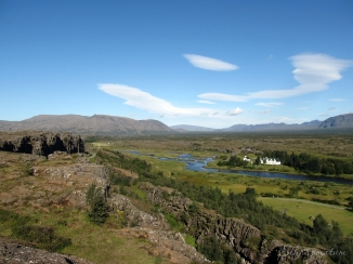 Thingvellir National Park is a Unesco World Heritage Site