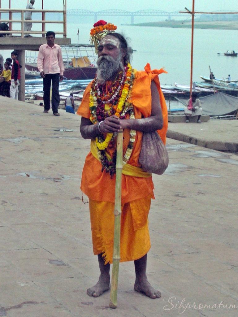 Varinasi -Sadhu