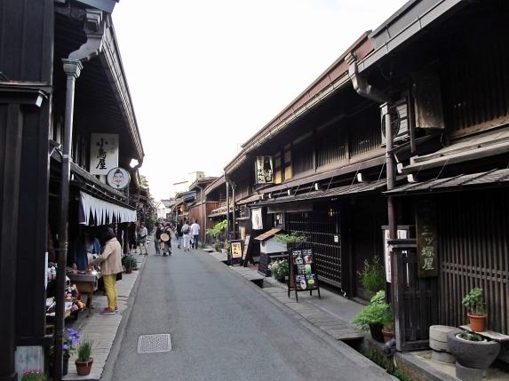 Old town, Takayama