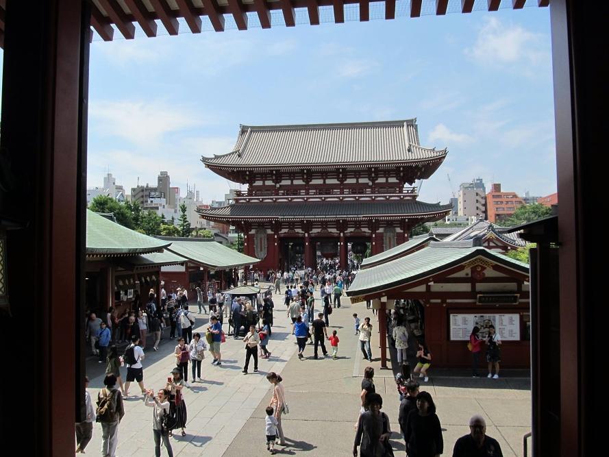 senso-ji temple, tokyo Japan