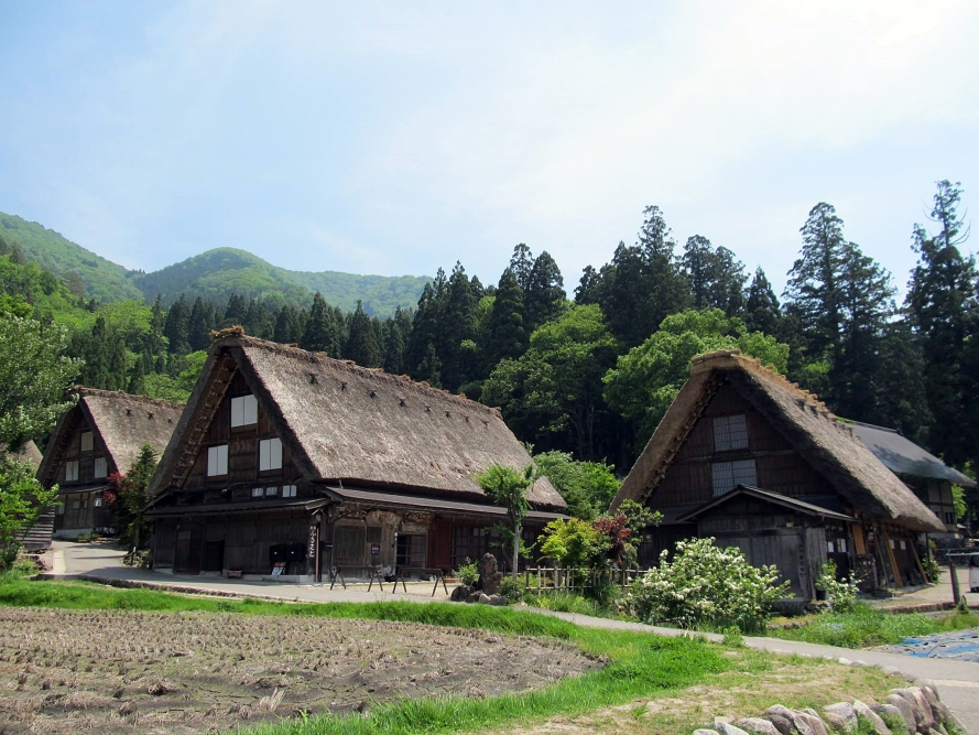 shirakawa-go village  Japan