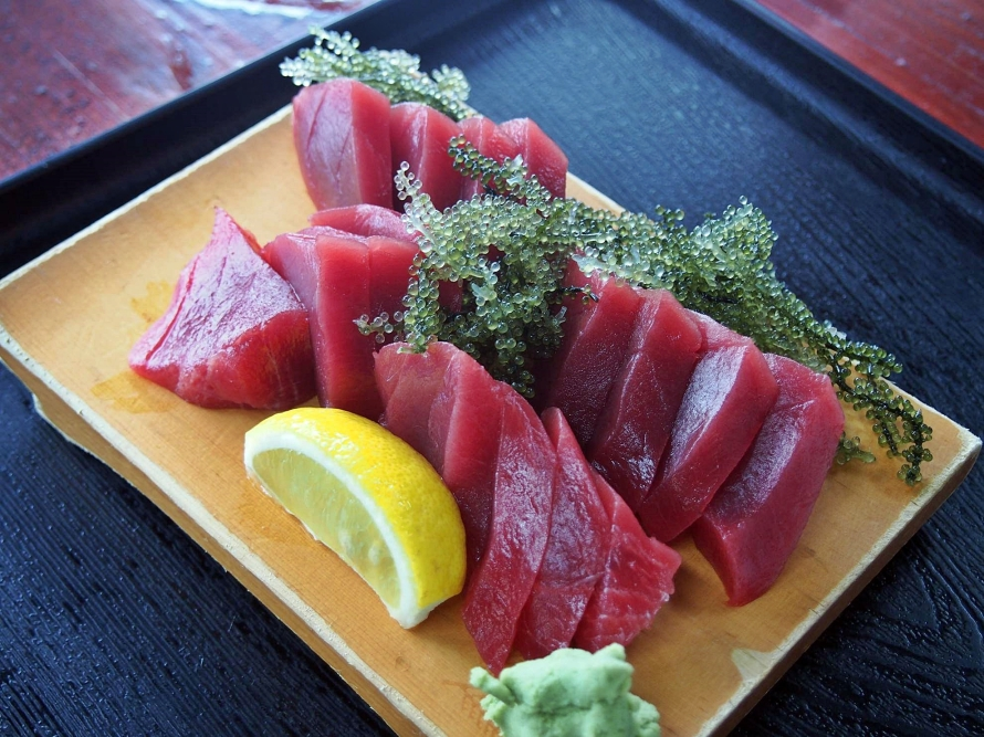 glorious tuna that you would die for.  Japan