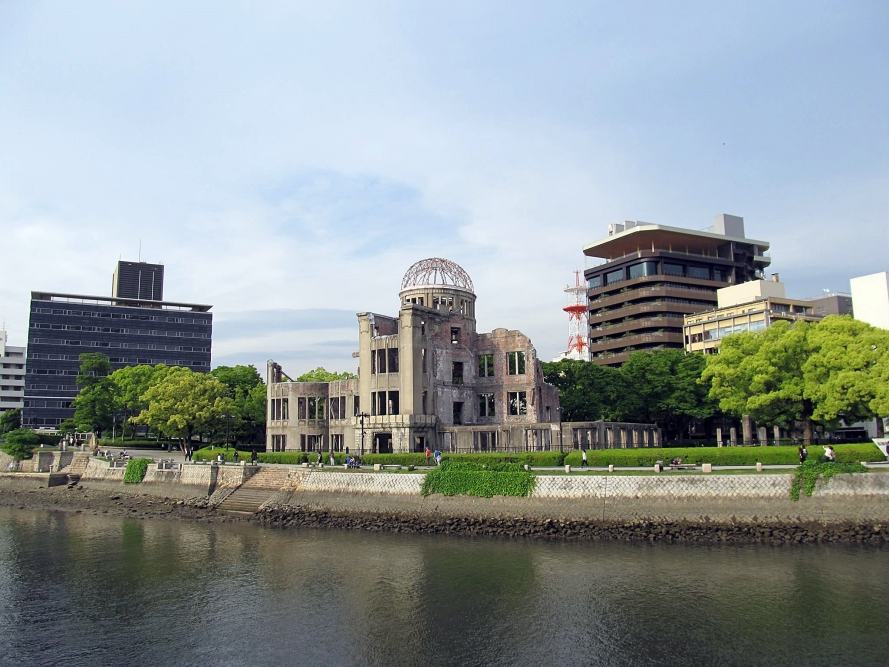 A-bomb dome, Hiroshima Japan