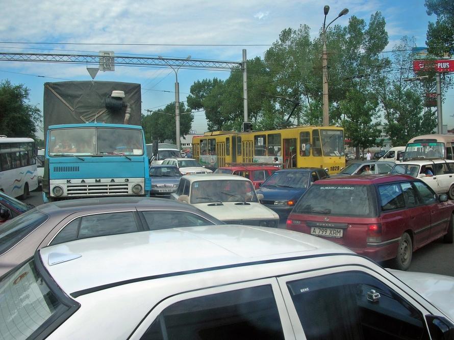 Kazakhstan gridlock