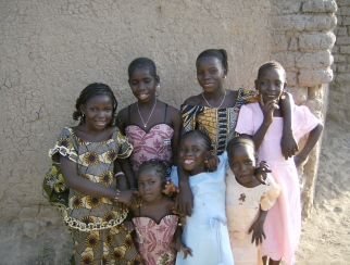 Smiling faces of Mali
