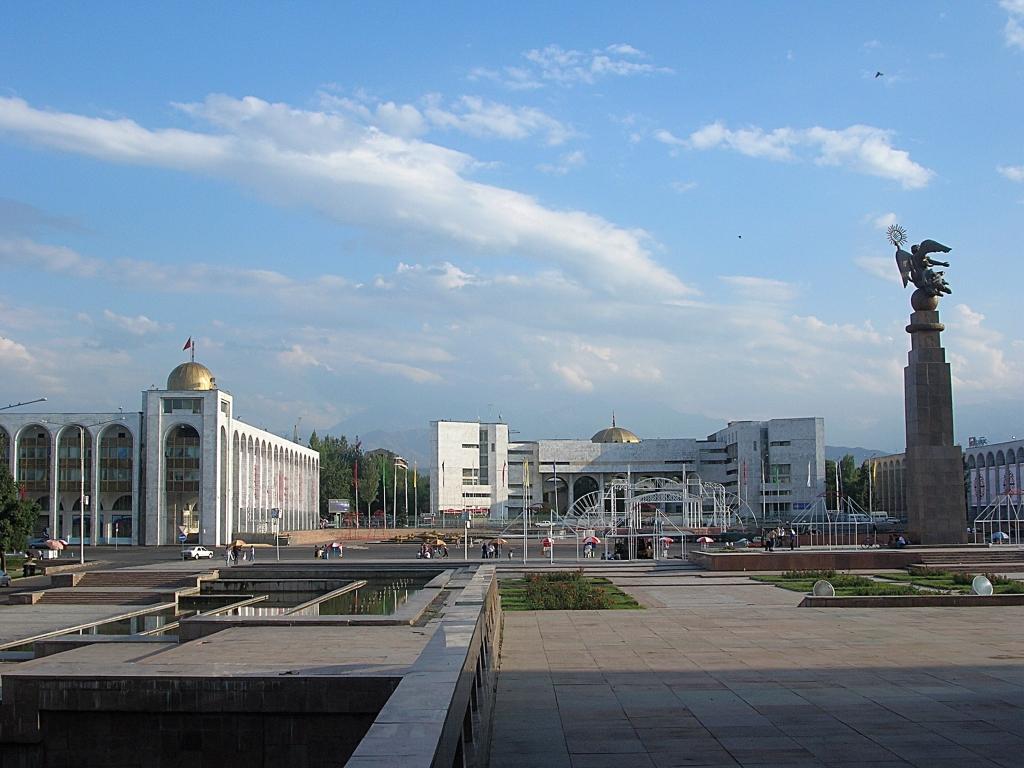 Bishkek the capital city of Kyrgyzstan -Ala-Too Square