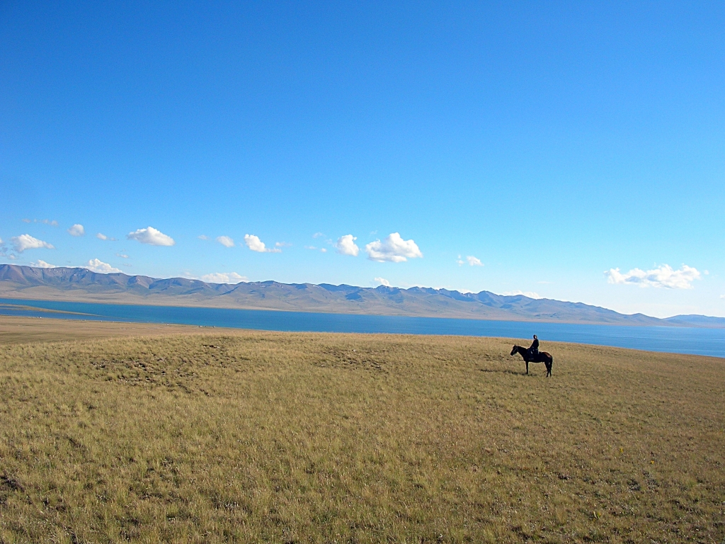 The best horseback riding ever - kyrgyzstan