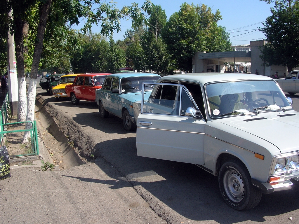 Lada's are every where